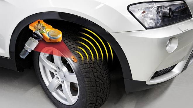 Ситема контроля давления в шинах
